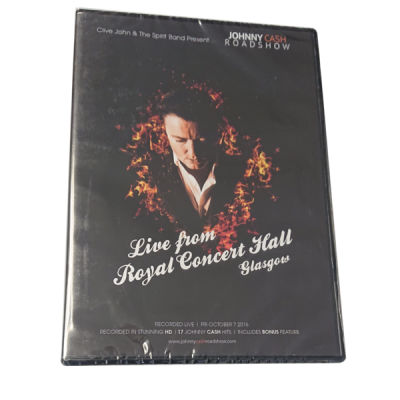 The Johnny Cash Roadshow (Live From Royal Concert Hall Glasgow) dvd Thumbnail